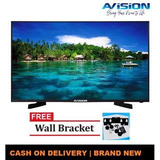 """Avision 43"""" Digital LED HD TV Black 43K786D with Free Wall Bracket    Brand New   Cash On Delivery"""