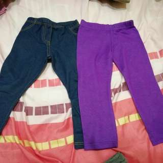 Girl Legging pants/tights (3-4 yrs old)