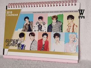 Super Junior Desk Calendar