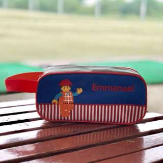 Personalized Pencil Case with handle