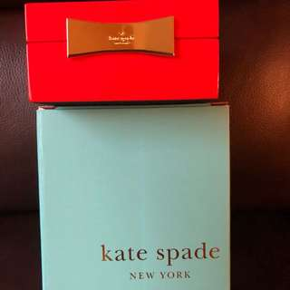 Kate Spade Garden Drive square jewelry bx