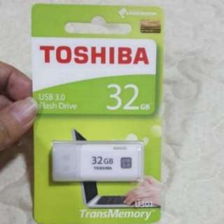 32gb Toshiba TransMemory USB 3.0 Flash Drive / Memory  Stick    ** USB 3.0 **  🌷 text only if price is agreeable.  will not reply negotiation   - BNIP (few available)