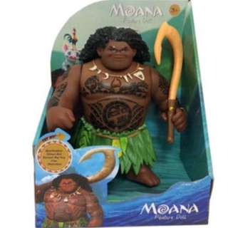 Authentic Maui moana toy brand new Maui can sings songs !!