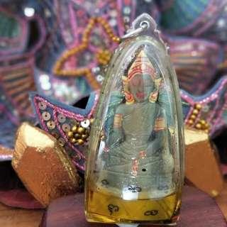 """AC Tawee Phra Ngan in Metta Oil 3"""" x 1.5"""""""