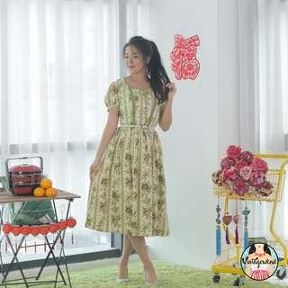 🍿 Vintage Midi Dress VD1163