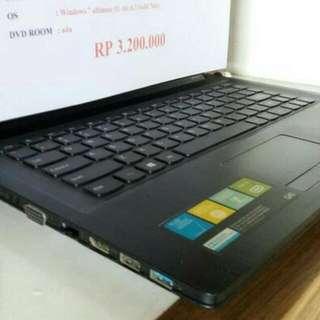laptop lenovo 20369 dapet garansi.