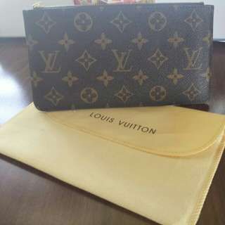 Louis Vuitton Monogram Pouch Wallet