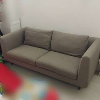 Centro 北歐風高級布藝梳化 (3座位) Nordic Style Luxury Sofa (3 Seats)