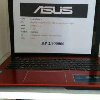 laptop asus x450ca kondisi 85%