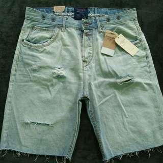 Celana Pendek Jeans Pull & Bear