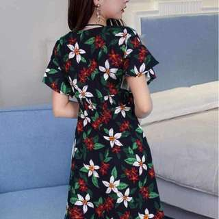 New arrival printed dress fits S-L