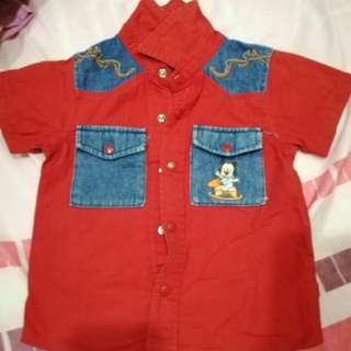 Disney Baby Boy Shirt