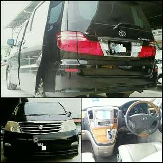 Toyota Alphard Sambung bayar