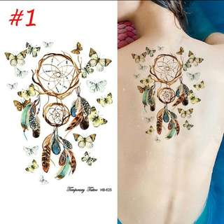 3D Temporary Tattoos