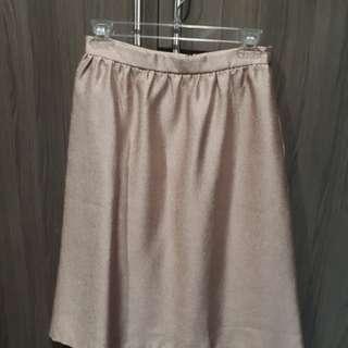 Pink/Gold Skirt
