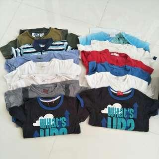 Bundle of boy's top and short pants
