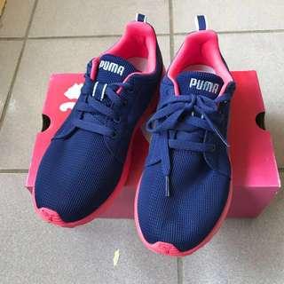 PUMA Carson Runner|輕量 慢跑鞋 運動鞋 藍紫桃紅|38號 US7.5 24CM UK5