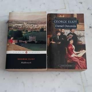 George Eliot Middlemarch & Daniel Deronda