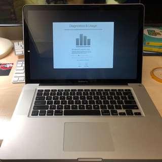 MacBook Pro 15 inch (2008) 2.66GHz Core 2 Duo