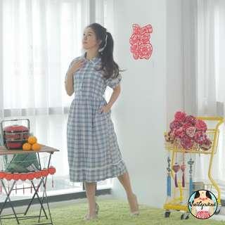 🍿 Vintage Midi Dress VD1168