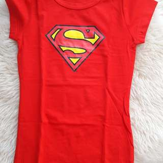 Superman Tshirt Girl