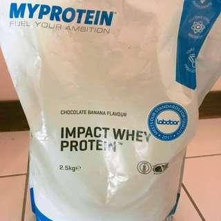 Myprotein 乳清—香蕉巧克力味 25g