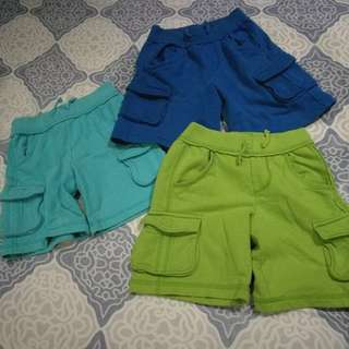 Cherokee shorts for boys (size 4t)