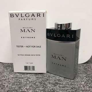 <100ml> Bvlgari Man Extreme Perfume Tester For Men