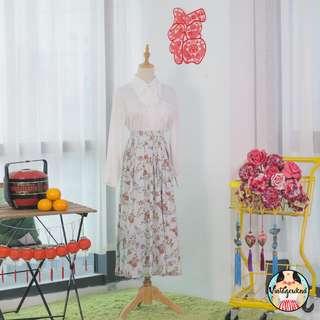🍿 Vintage Midi Skirt VS1317