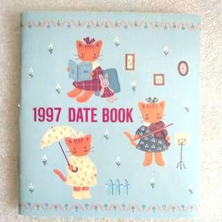 Winkipinki 絕版 1997 Date Book