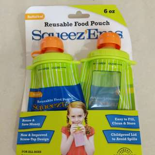 Squeez'Ems Resuable Food Pouch