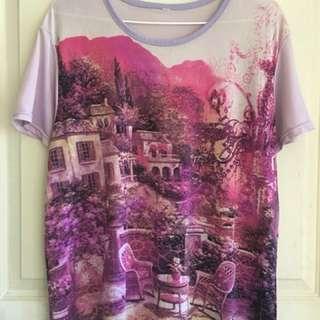 Purple blouse M-L