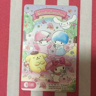 🆕 Limited Edition Sanrio Characters Valentine 2018 Edition Ezlink Card
