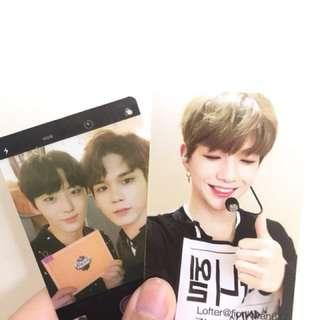 Wanna One 邕聖祐snl memo pad(附送95line 小透或Ong/Daniel 小卡)