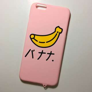 Pink Banana Iphone 6s+ Case