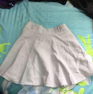 🚚 銀灰色A字褲裙