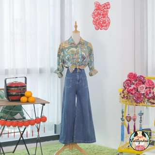 🍿 Vintage Blouse VB1435