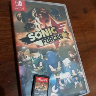 Sonic Forces switch game