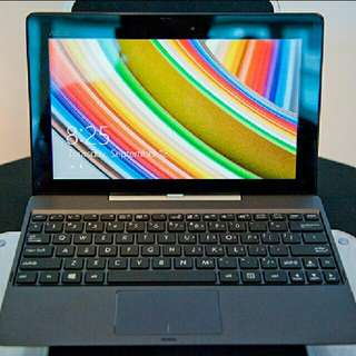 (LAST SET!) FREE MS OFFICE Certified Refurbished Asus T100 Hybrid Tablet Laptop