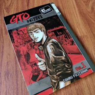 GTO Great Teacher Onizuka Manga Volume 1