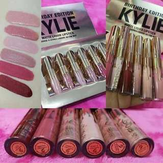 Kylie lipcream set 6pcs