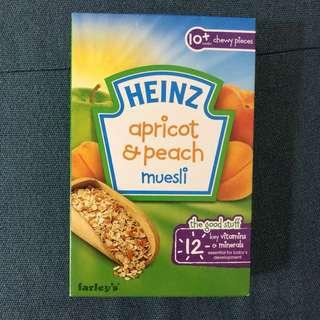 Heinz Apricot & Peach Muesli