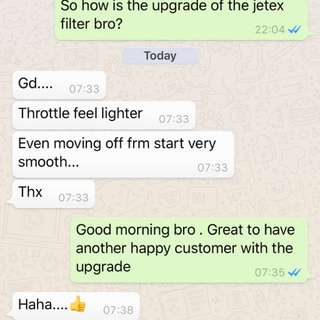 Jetta Sport 1.4 tsi Upgrades jetex high flow performance drop in air Filter with 99% filtration at 2.8 microns washable and reusable ..