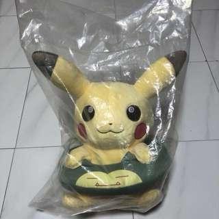 Pikachu Snorlax tube plush