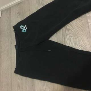 Black tna sweatpants