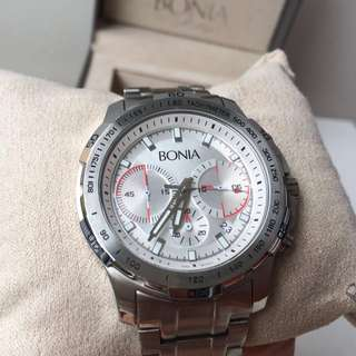 BONIA Premio authentic men's watch type BPT191-1312C jam tangan pria branded murah