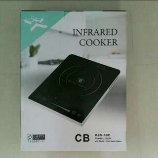 Infrared Cooker Touch & Finger - sliding control with safety timer Brand New In Box BNIB