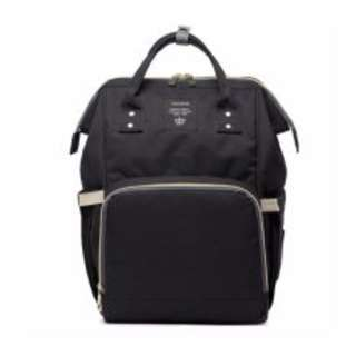 #15off READY STOCK! Mummy Diaper Backpack (BLACK)