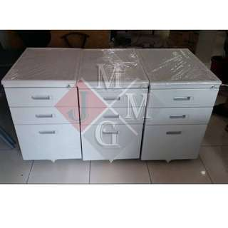 Mobile Pedestal CABINET THREE DRAWER WITH PENCIL TRAY