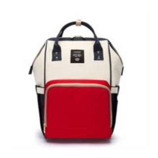 (STOCK CLEARANCE) Mummy Diaper Backpack (AS PER PIC)